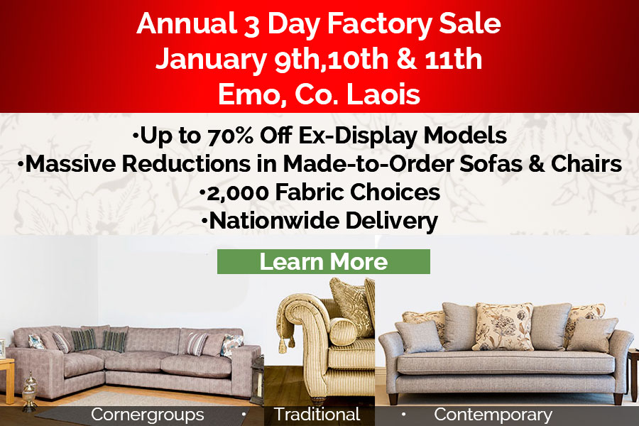 Annual 3 Day Factory Sale
