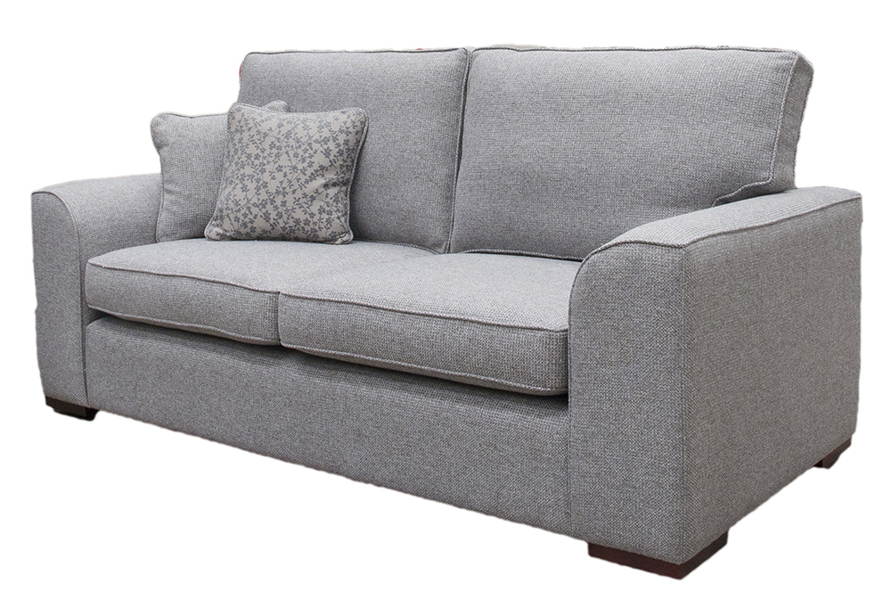Leon Large Sofa Side - Milwalkee Grey