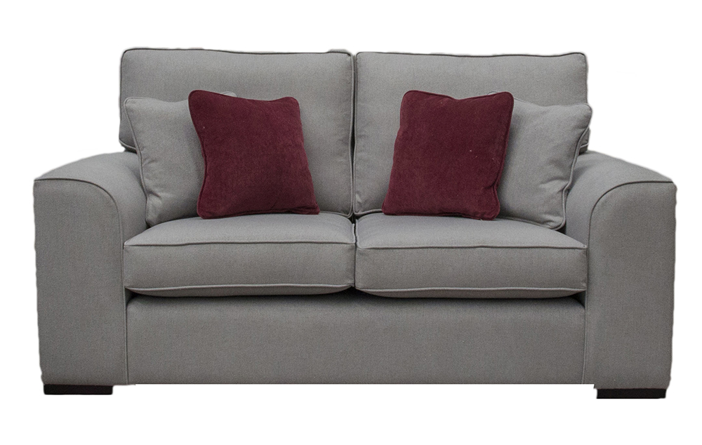 Leon small sofa San Francisco Silver – Bronze Collection