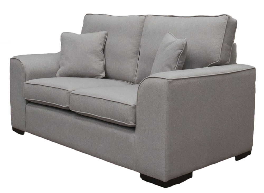 Leon small sofa San Francisco Silver – Bronze Collection side