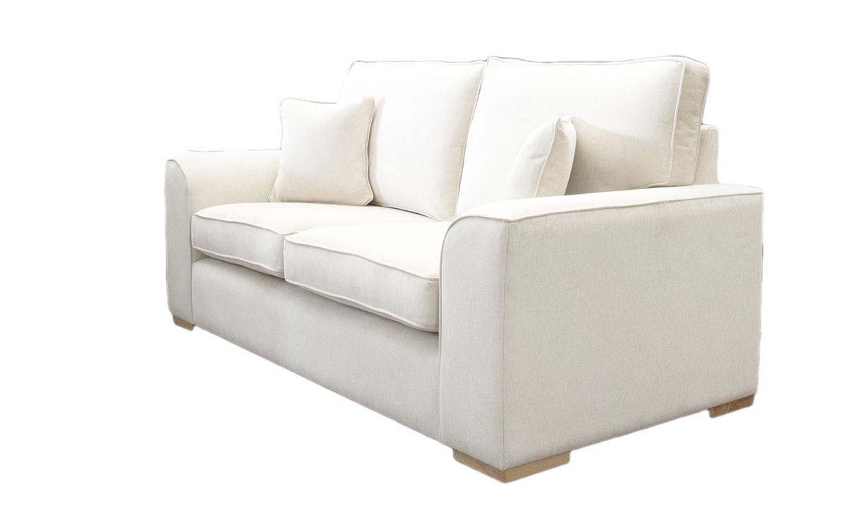 Leon Large Sofa in a Gold Collection Fabric