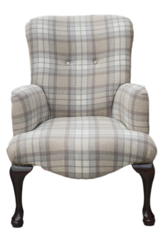 Aisling Chair - Country Plaid Earth