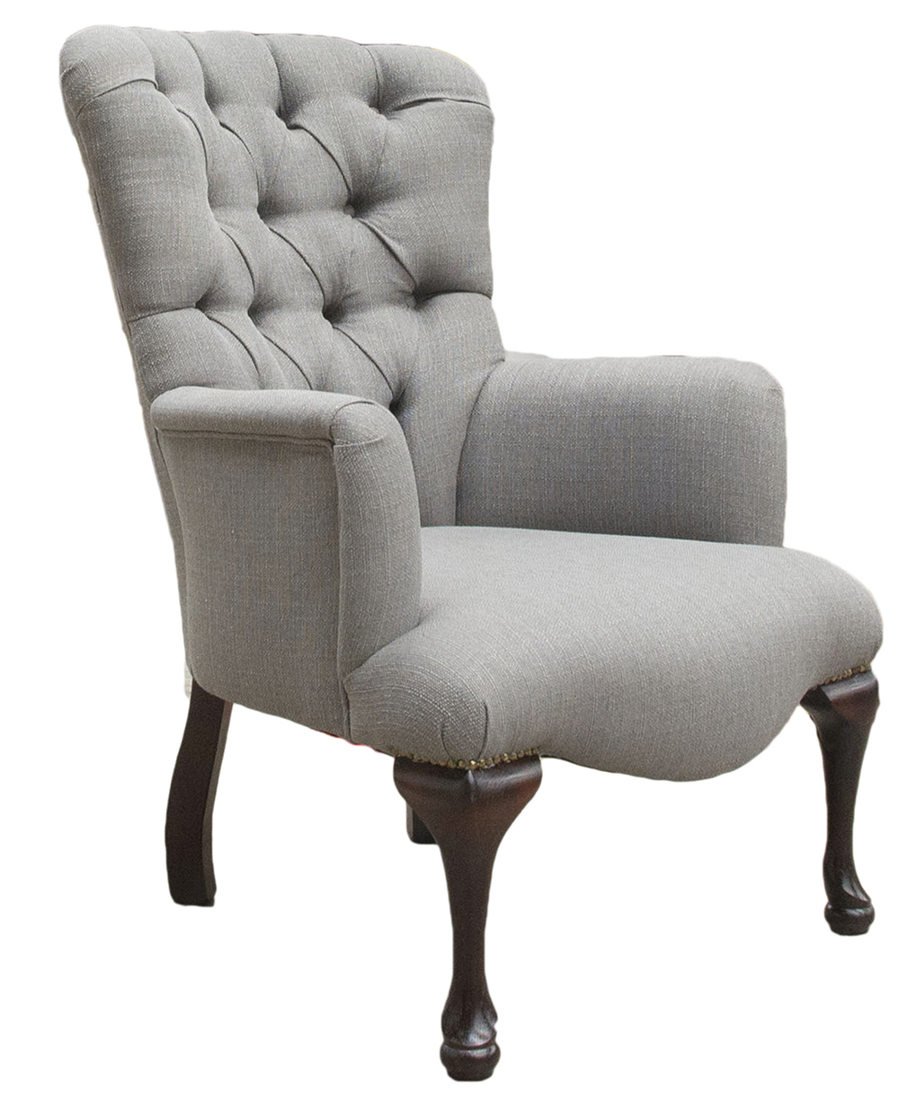Aisling Chair Side - Aosta Grey
