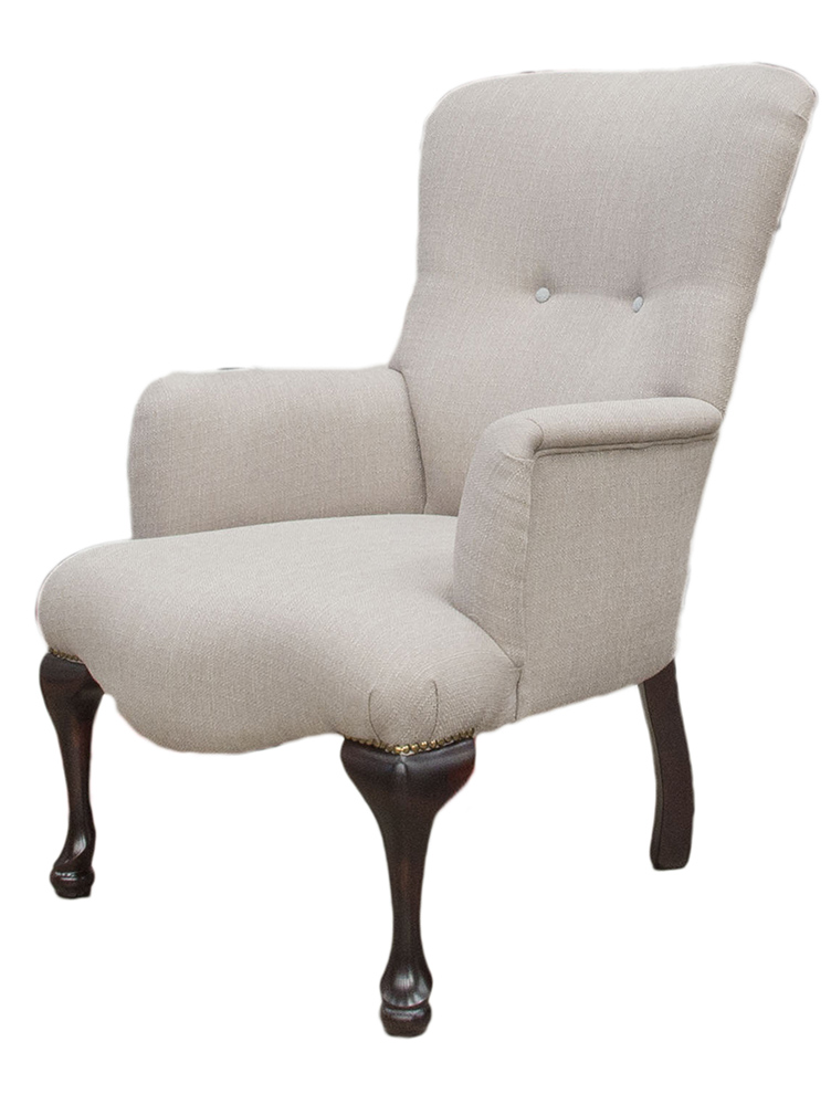 Aisling Chair Side - Aosta Putty
