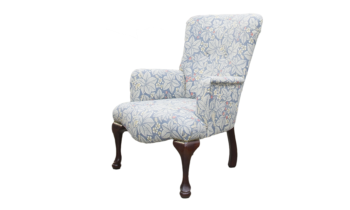 Aisling Chair in a customers own fabric