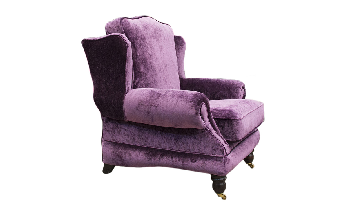 Alexandra Chair in a Platinum Collection Fabric