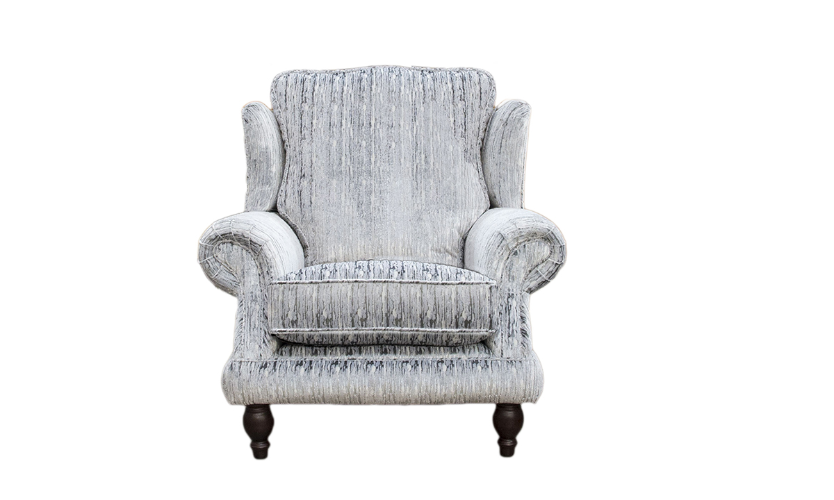 Alexandra Chair in Bronze Collection Fabric