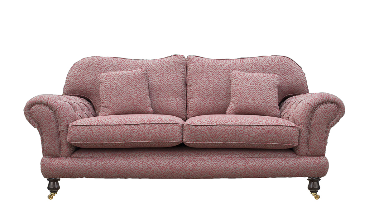 Alexandra Large Sofa with Deep Button Arms in Customers Own Fabric