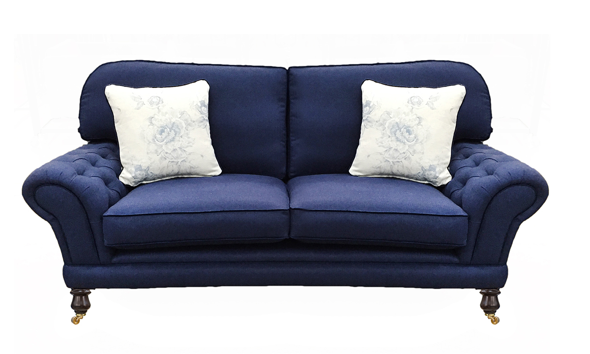 Bespoke Alexandra Small Sofa with Deep Button Arms