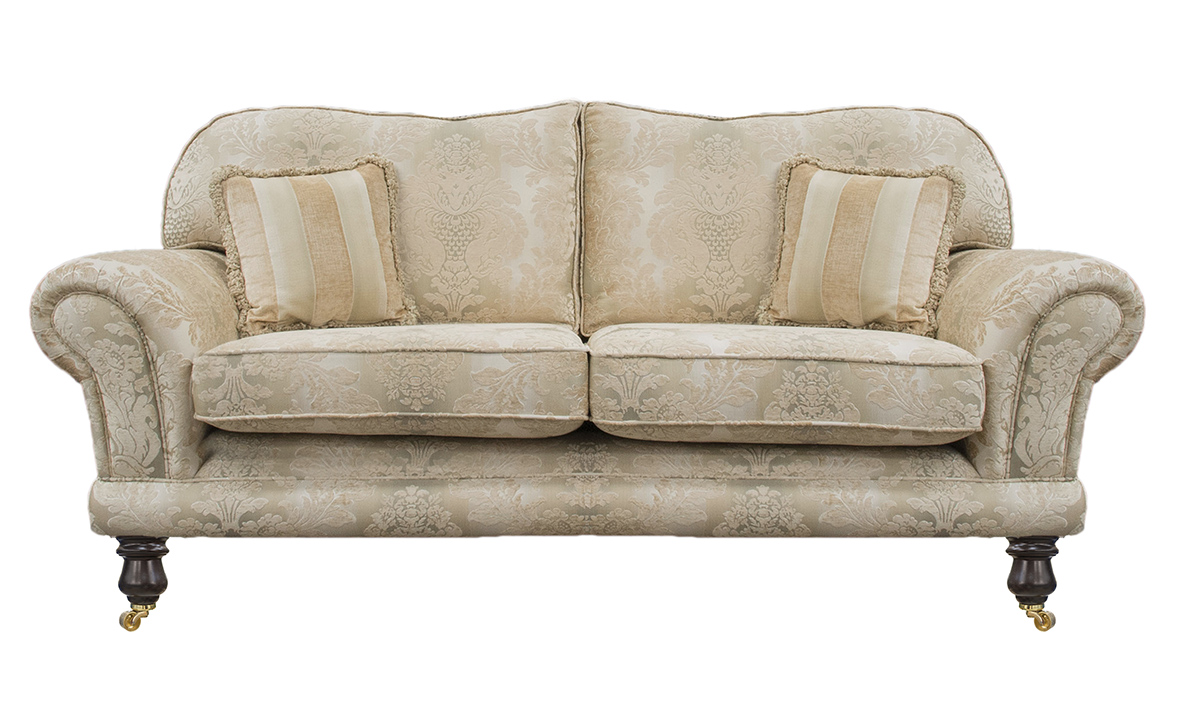 Alexandra Large Sofa in Sonoma Pattern Gold, Platinum Collection Fabric