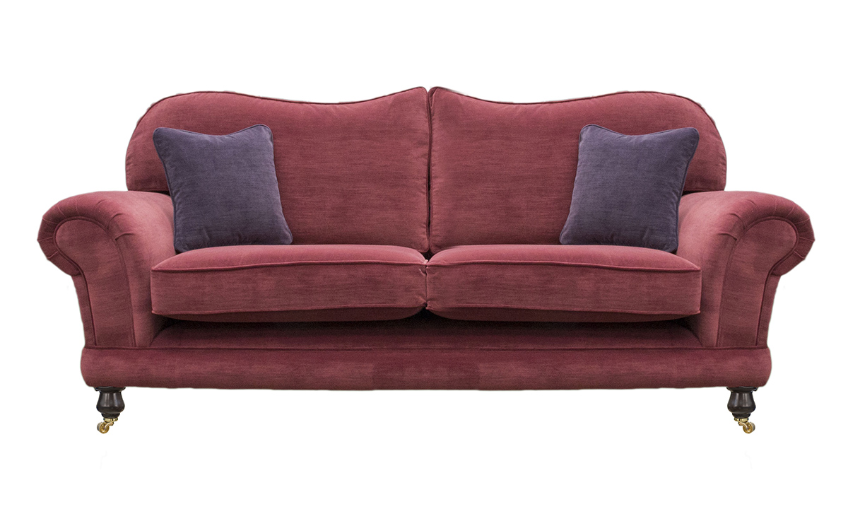 Alexandra Small Sofa in Madison Wine 14281