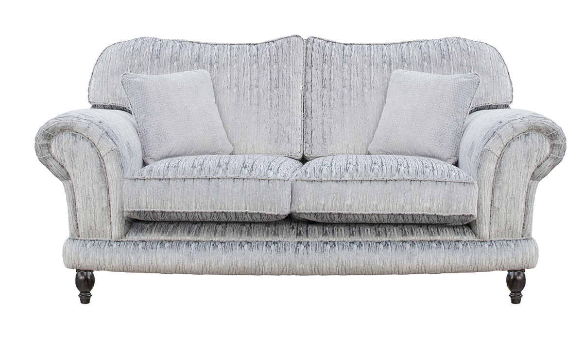 Alexandra Small Sofa in a Bronze Collection Fabric