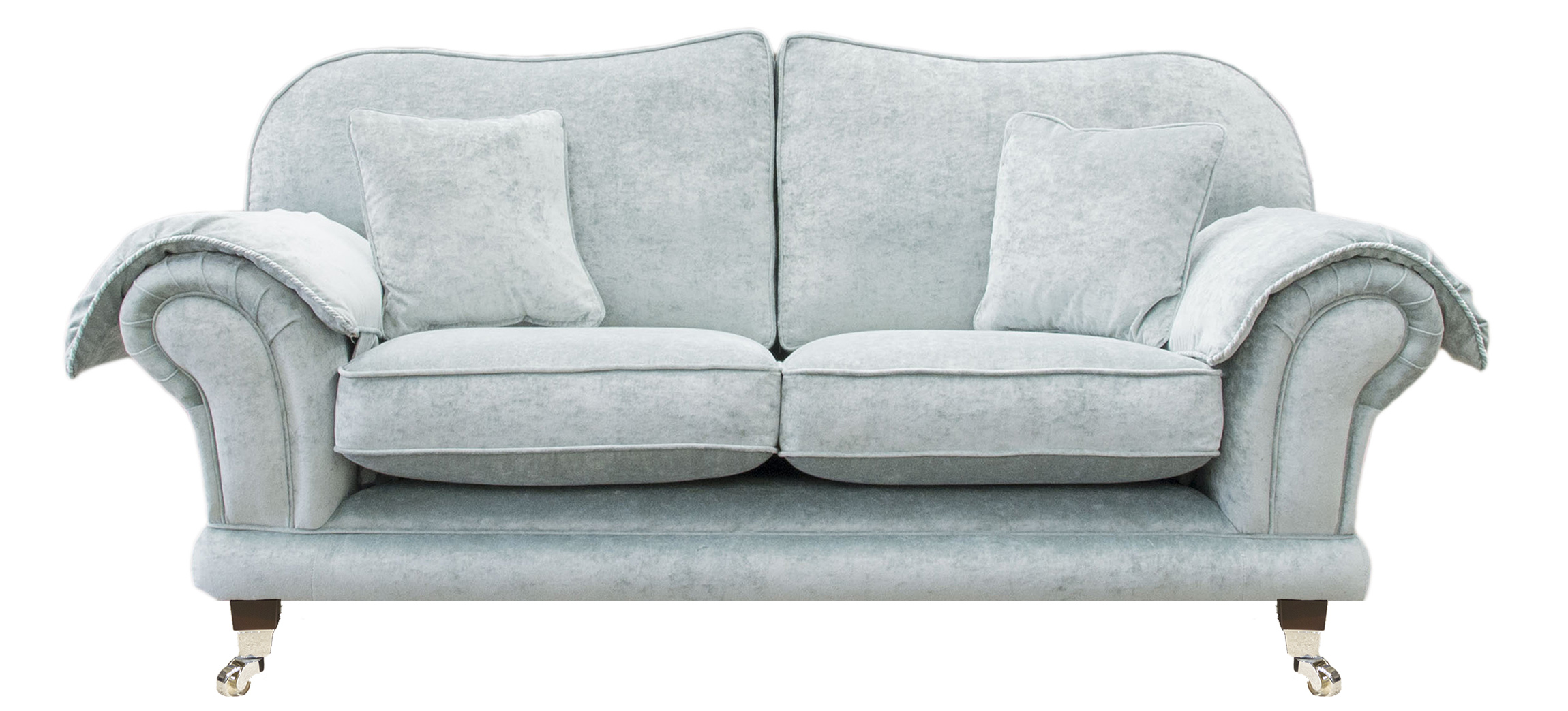Alexandra Large Sofa in Platinum Collection Fabric