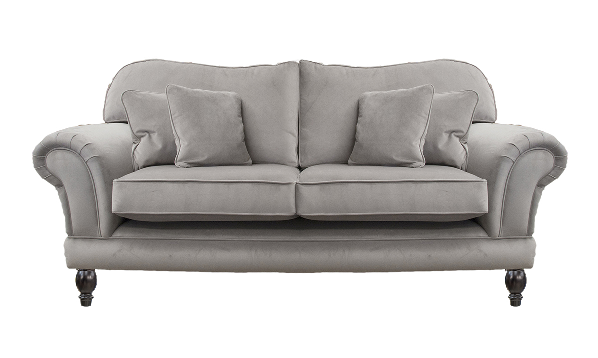 Alexandra Small Sofa  Warwick Plush Fog, Platinum Collection Fabric