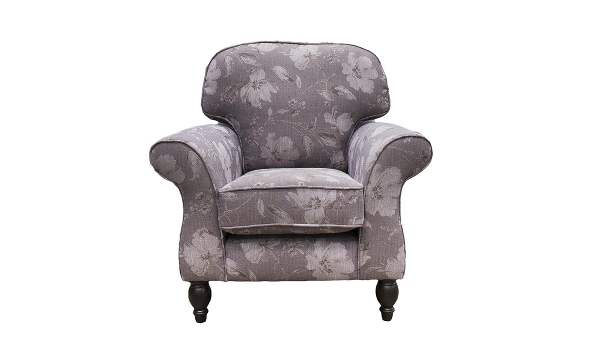 Ascot Chair in a Discontinued Fabric