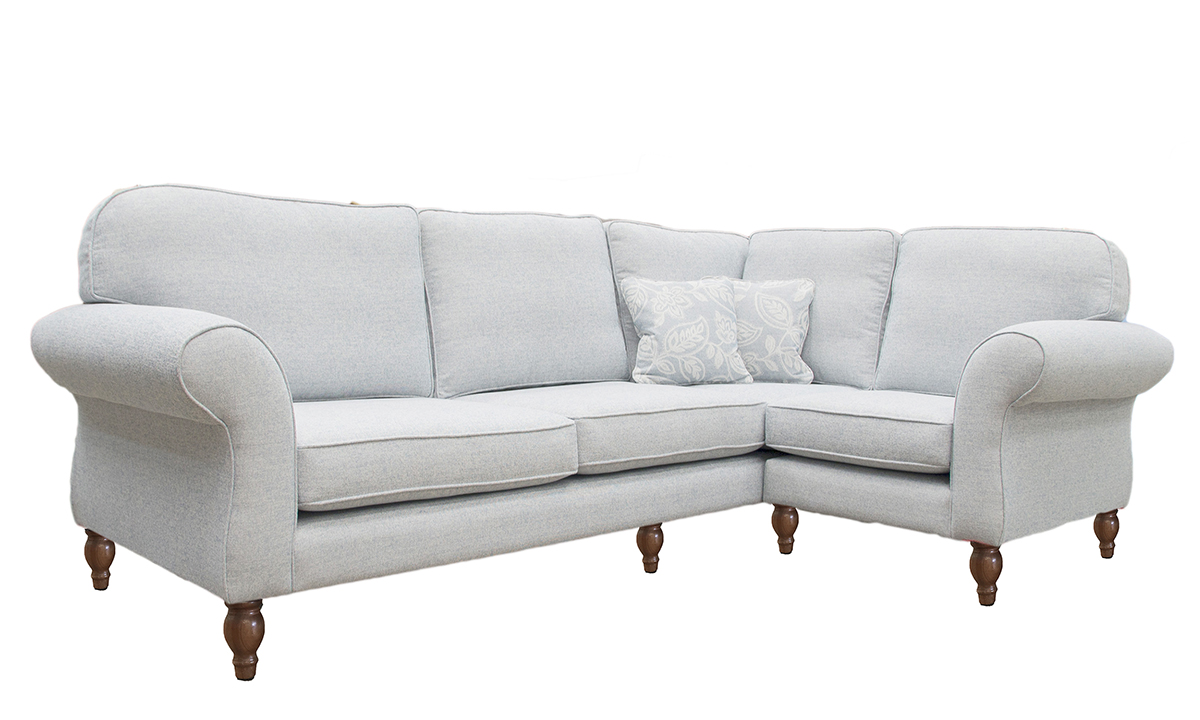 Bespoke Size Aslan Corner Sofa 3 str LHF+ Single unit RHF in a Customers OwnFabric