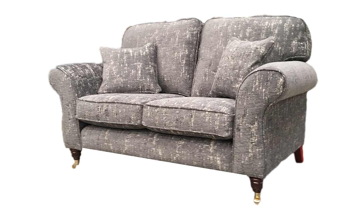 Aslan Small Sofa in Bronze Collection Fabric