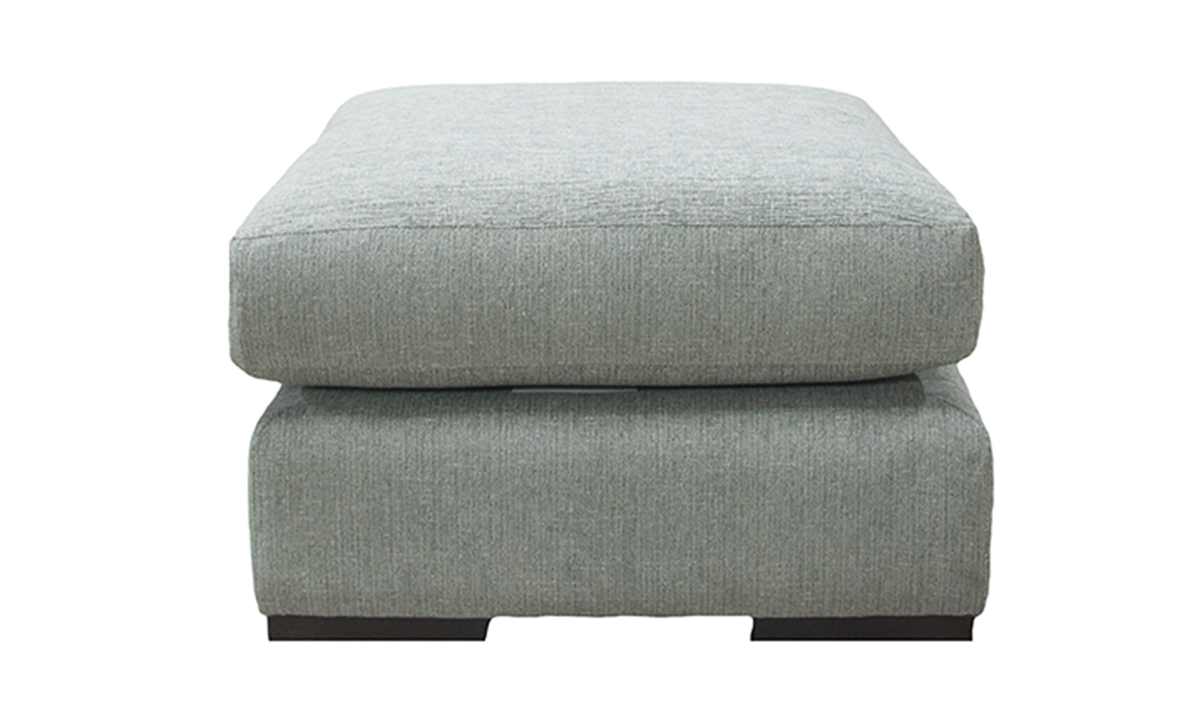Atlas Footstool in Discontinued Fabric