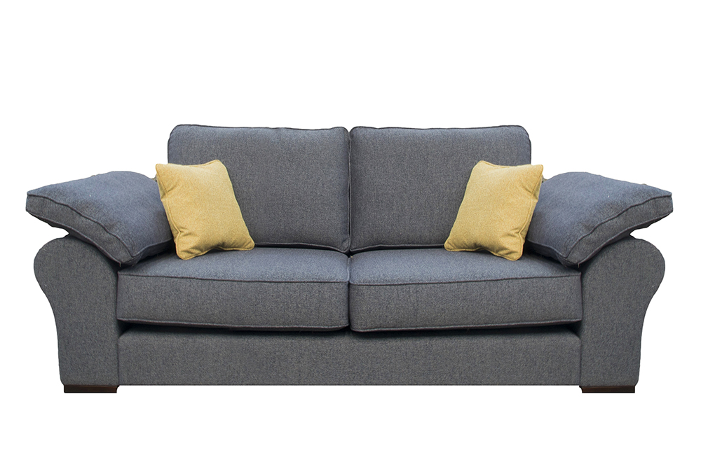 Atlas Small Sofa in Belize Ink Bronze Collection