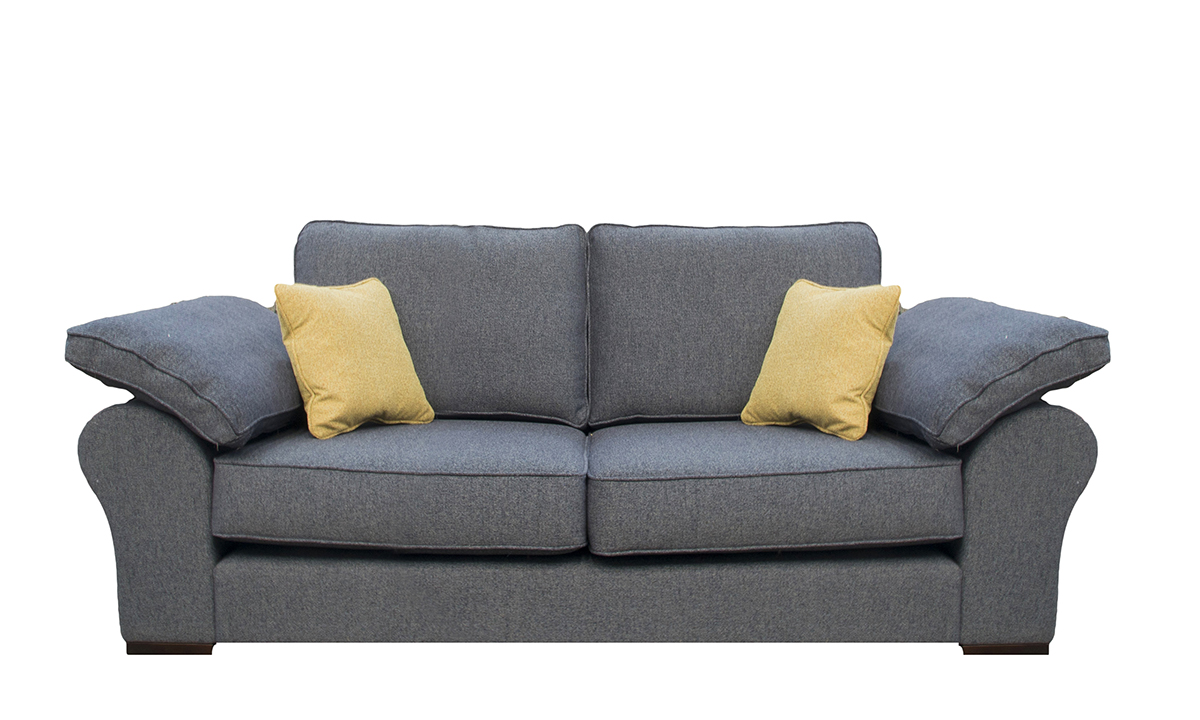 Atlas 2 Seater Sofa in Belize Ink Bronze Collection Fabric