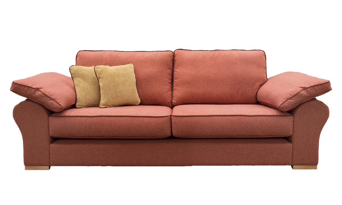 Atlas Large Sofa in J Brown Mckenzie 28 Lava