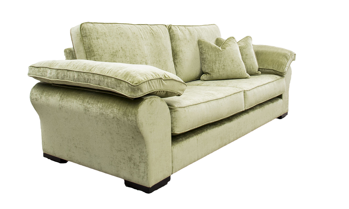 Atlas Large Sofa in Mancini Citrus, Gold Collection