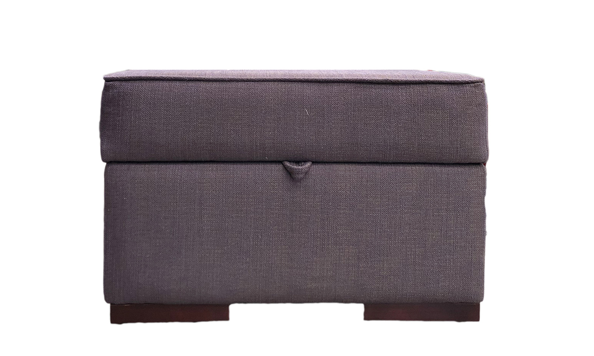 Atlas Storage Footstool in a Discontinued Fabrics