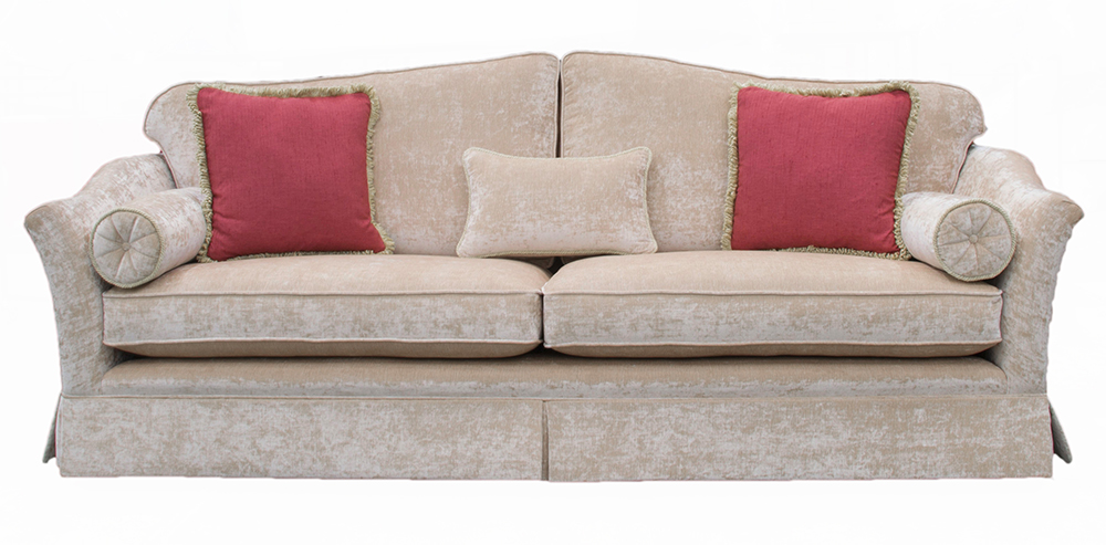 Othello Large Sofa (special with skirt) – Platinum Collection Fabric