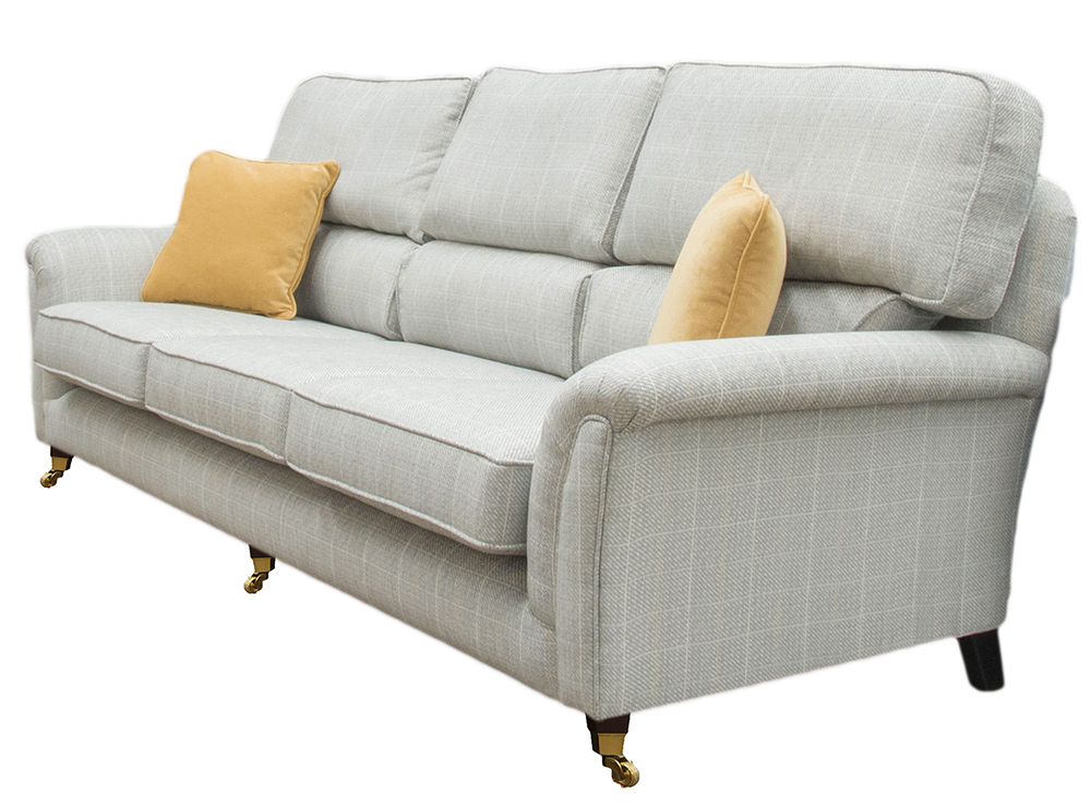 Cumbria sofa special - silver collection side