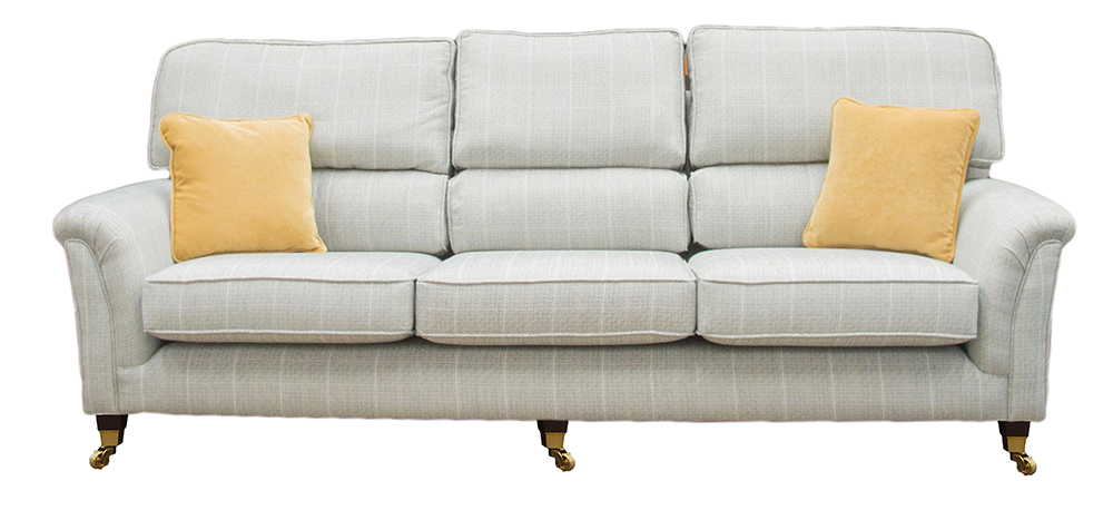 Cumbria sofa special - silver collection