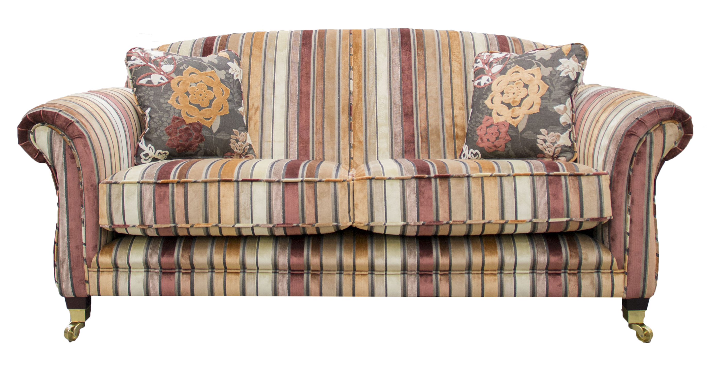 Elton-Fixed-Back-Sofa-–-Alton-–-Texas-Stripe-Coffee-Cream-–-Platinum-Collection