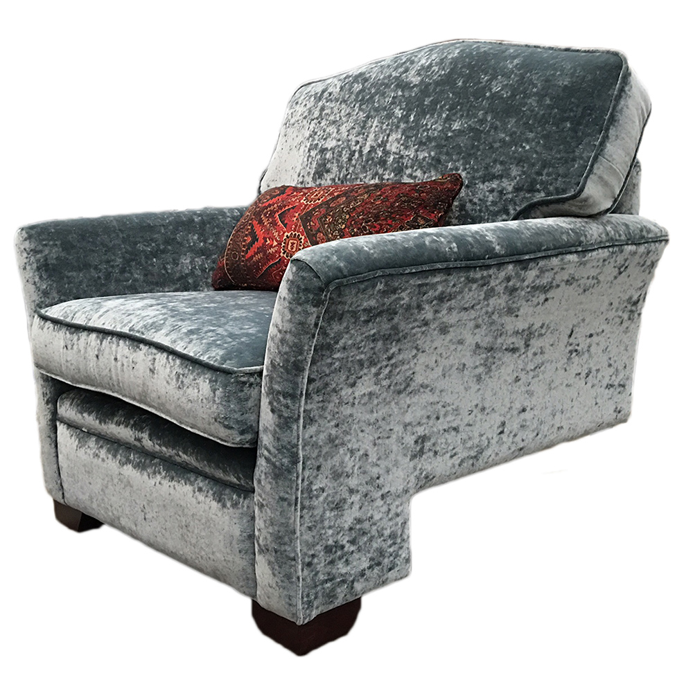 Othello Chair Side - Bespoke Base - in COM
