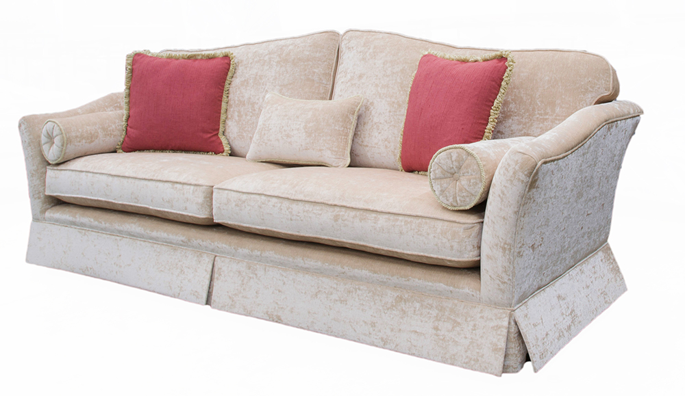 Othello Large Sofa (special with skirt) – Platinum Collection Fabric side