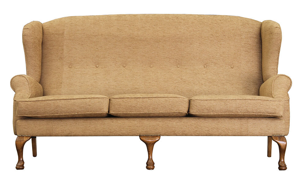 Queen Anne 3 Seater {Bronze-Collection}