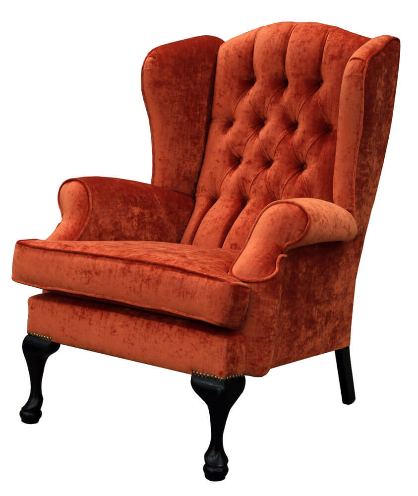 Queen-Anne-Chair-Deep-Button