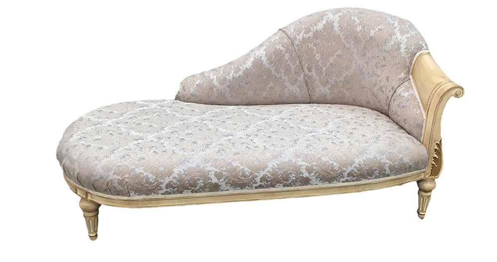 Verdi chaise rhf arm - bronze collection fabric