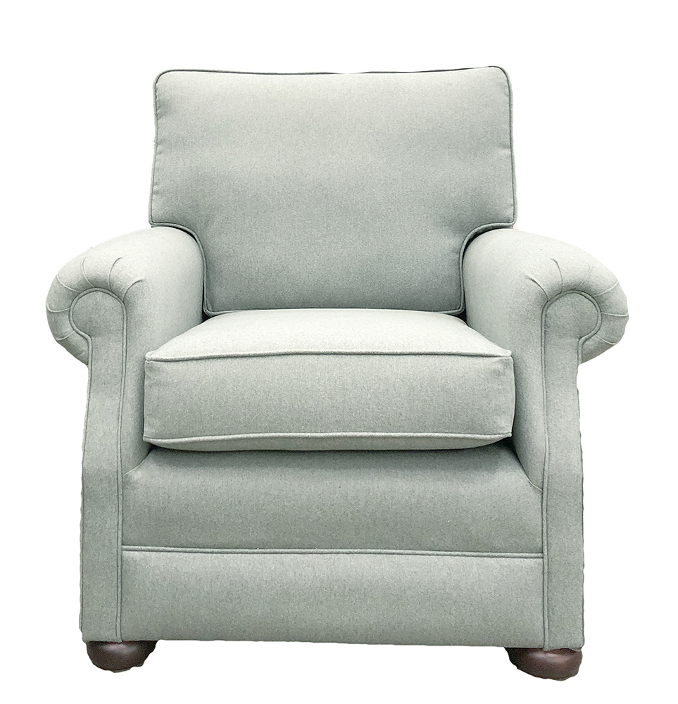 Blair Chair - Tweed - Silver Collection