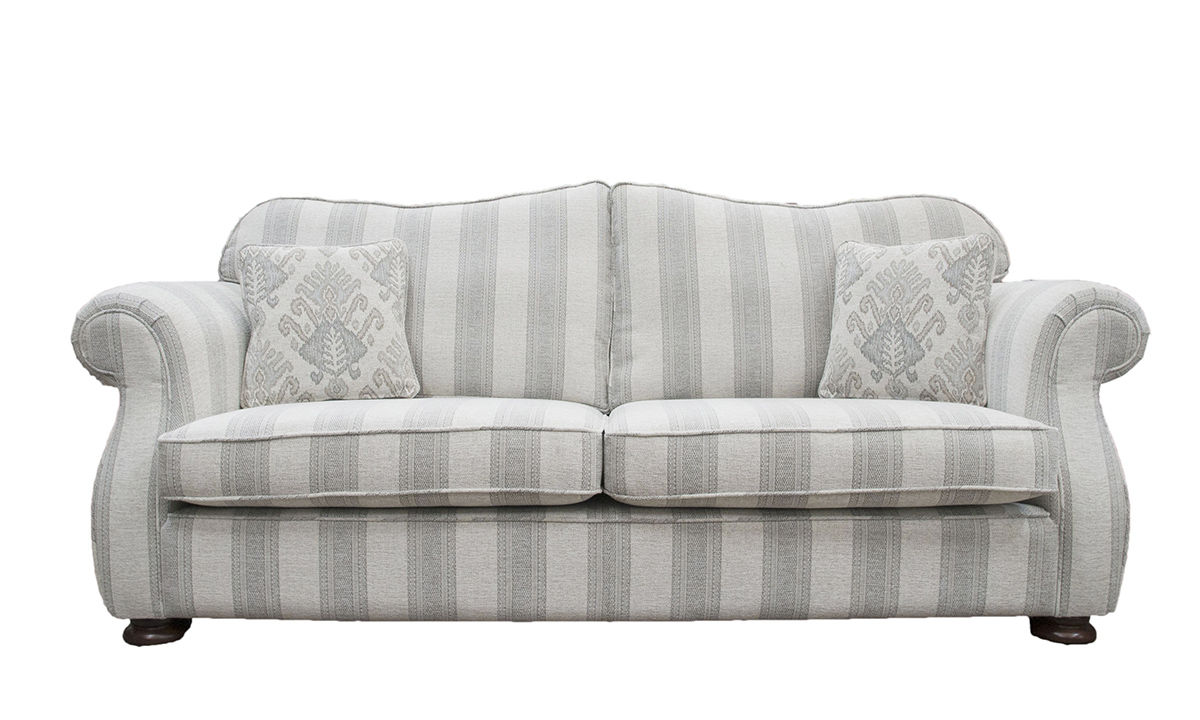 Cameo Large Sofa in aBronze Collection Fabric