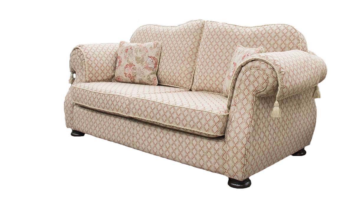 Cameo Sofa in Nelson Trellis, Platinum Collection Fabric