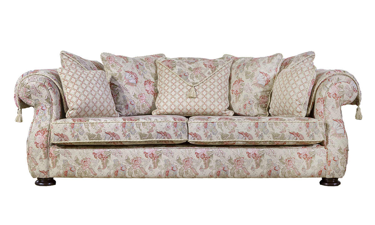 Camelot Sofa in  Nelson Pattern, Platinum Collection Fabric