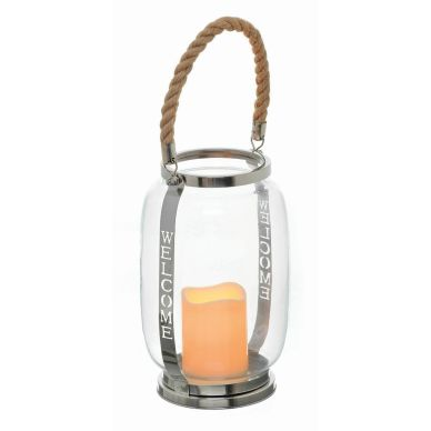 Welcome Candle Lantern MB132 Mindy Browne €30.65