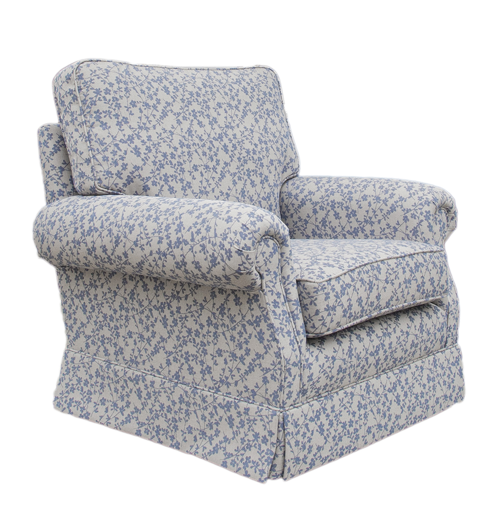 Clare Chair Side - Kwint Navy