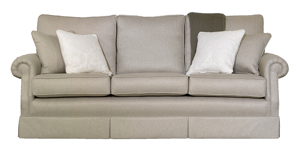 Clare Large Sofa in McKenzie – Silver Collection