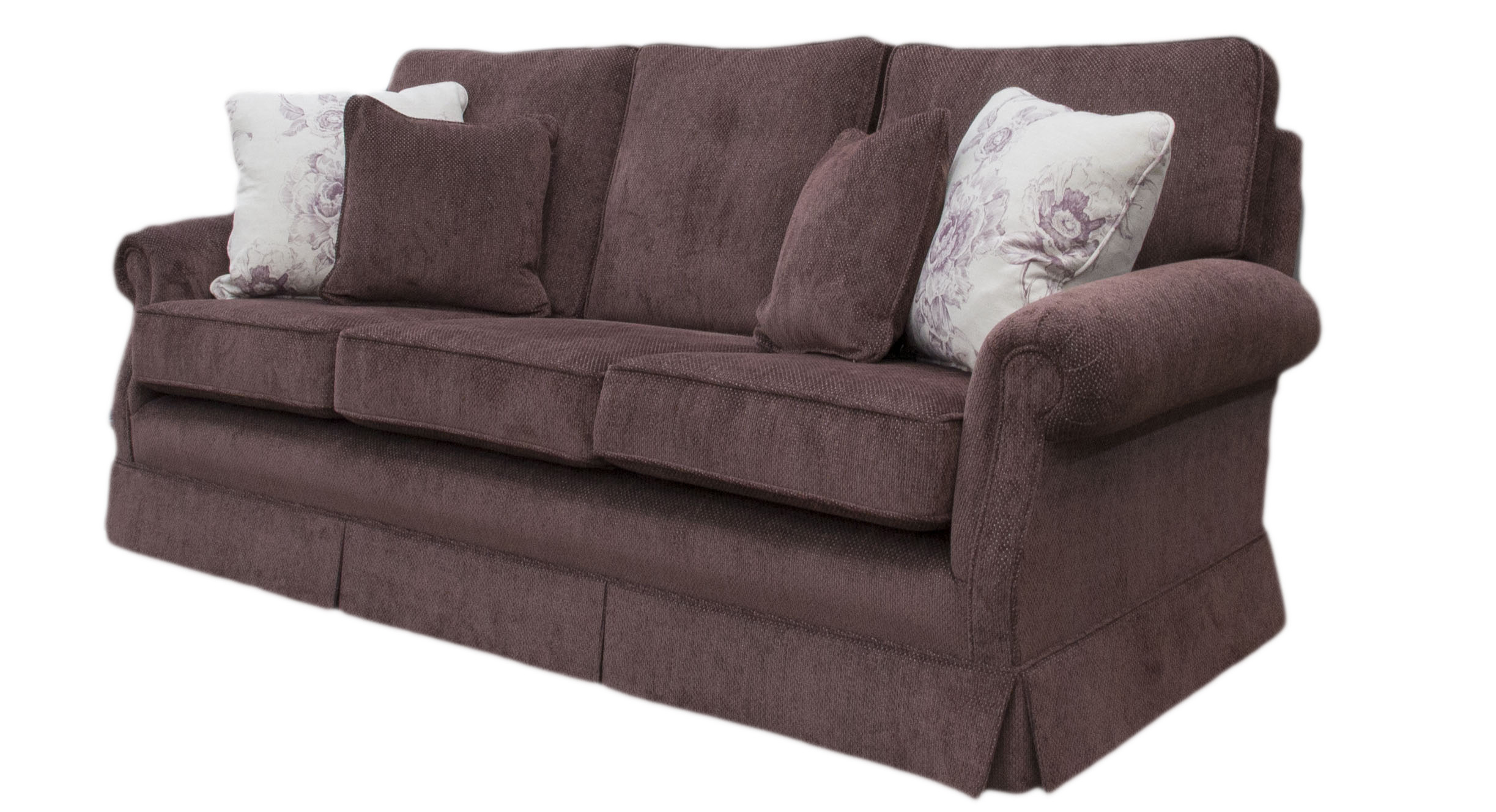 Clare Large Sofa - Silver Collection