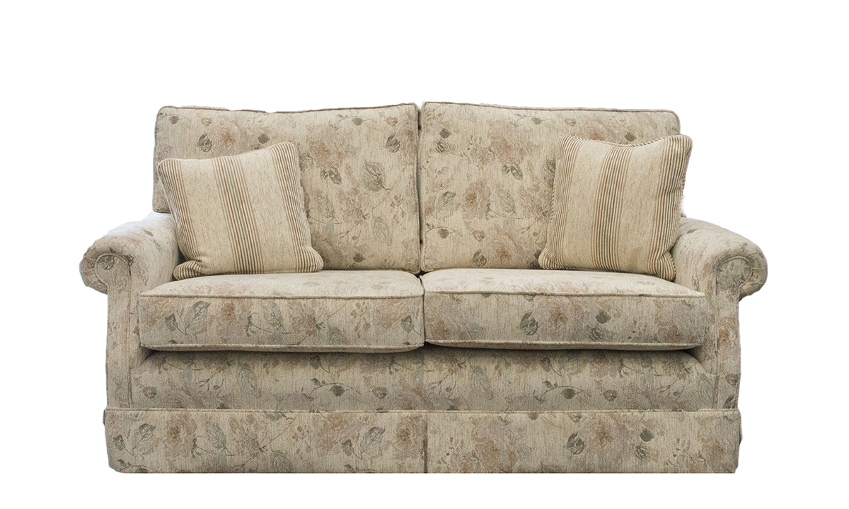 Clare Sofa in a Silver Collection Fabric