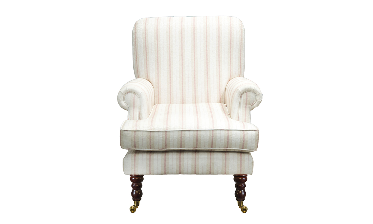 Cleary Chair in Raya Ellis 05 Gold Collection of Fabrics