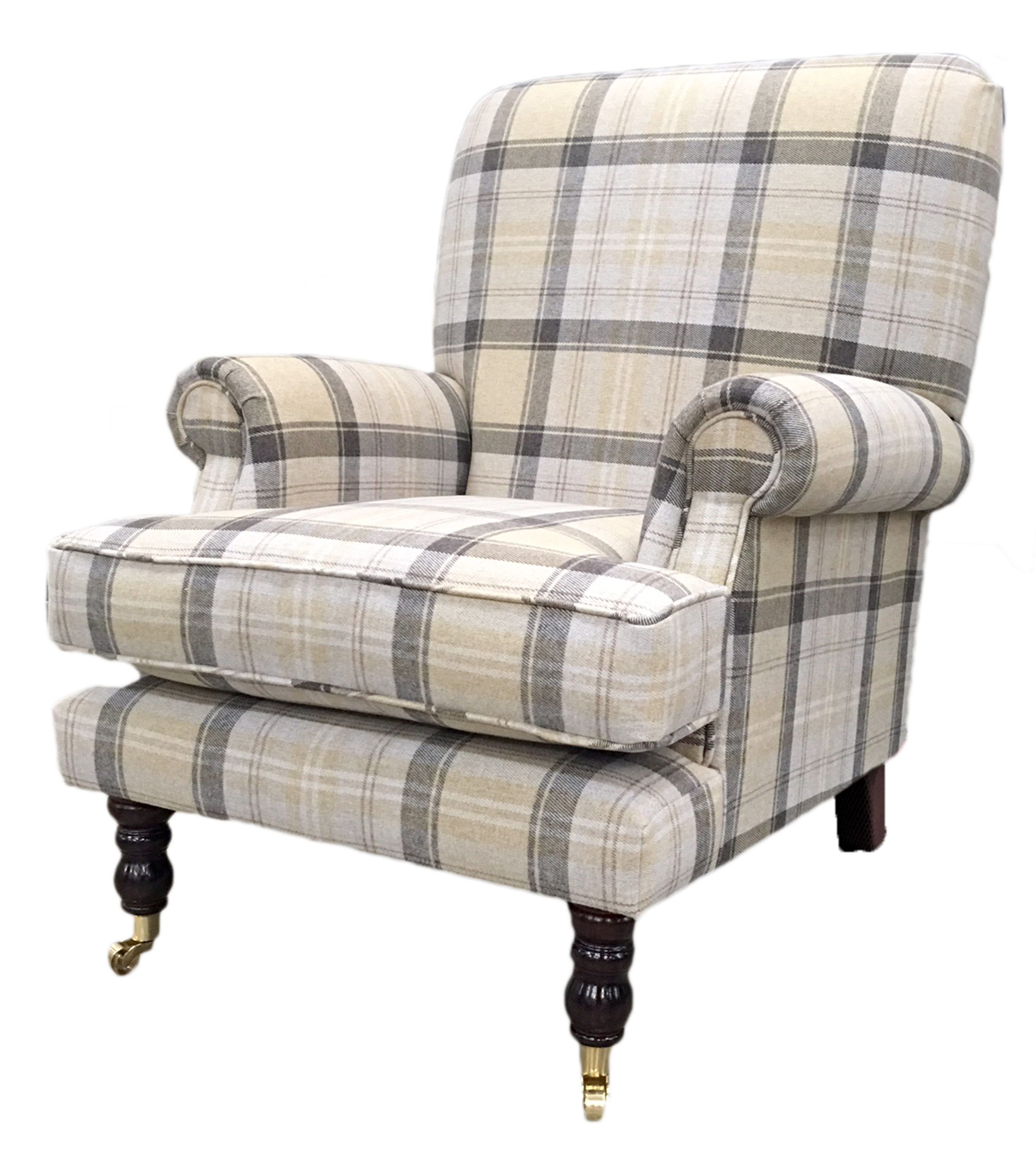 Cleary-Aviemore-Plaid-Chocolate-Silver-Collection-side