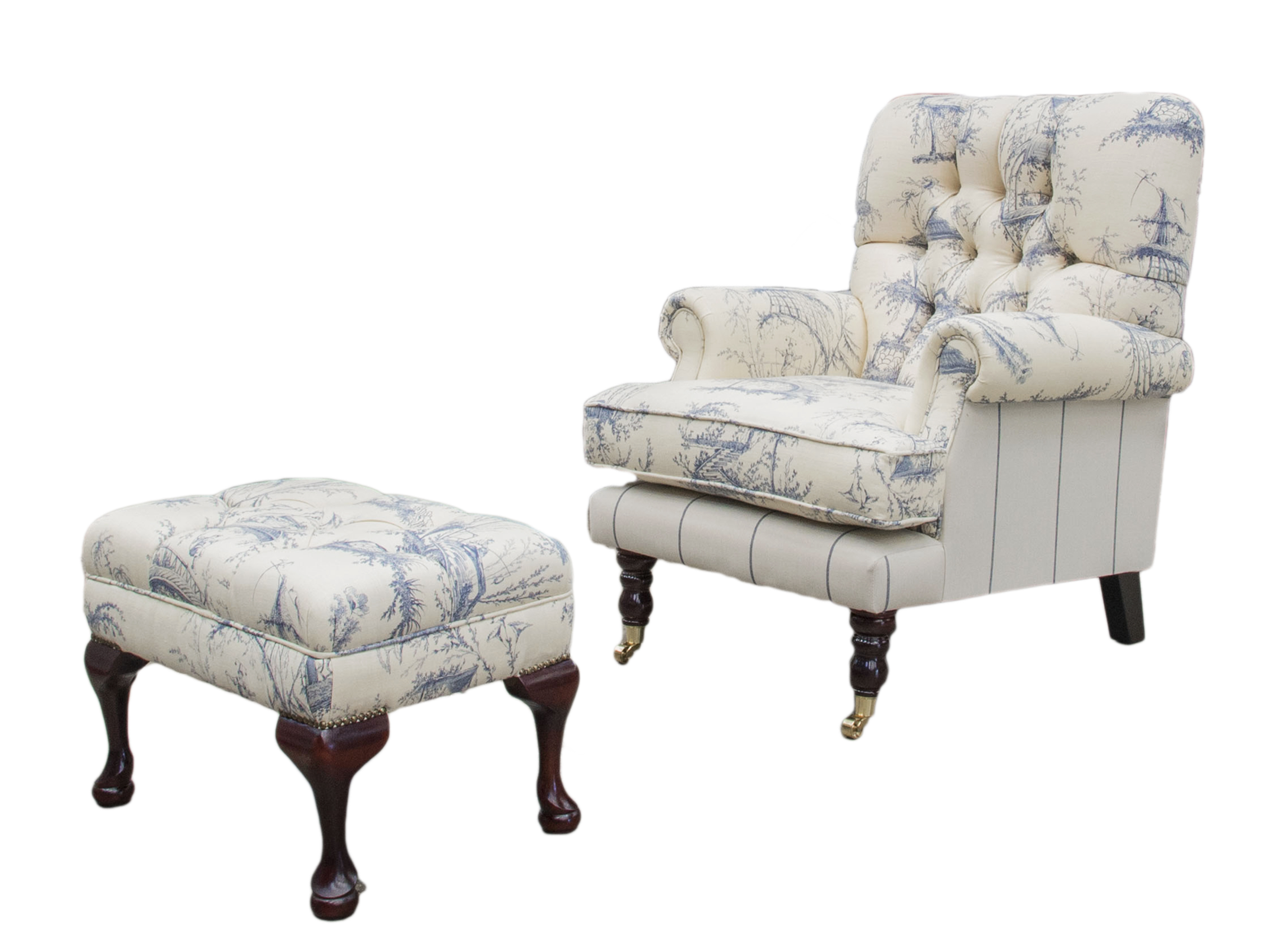 Cleary-Depp-Buttoned-Chair-COM-with-Queen-anne-footstool