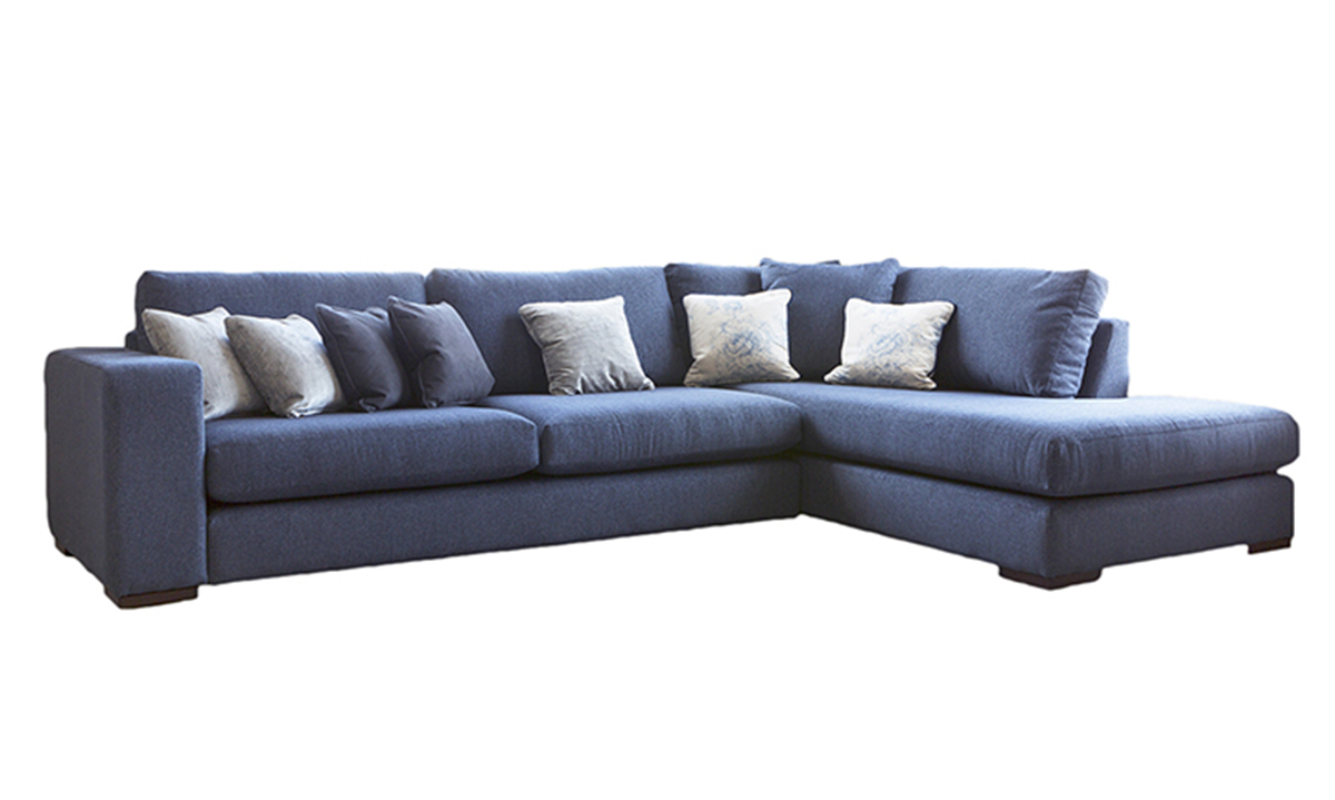 Colorado Corner Chaise Sofa in Discontinued Fabric