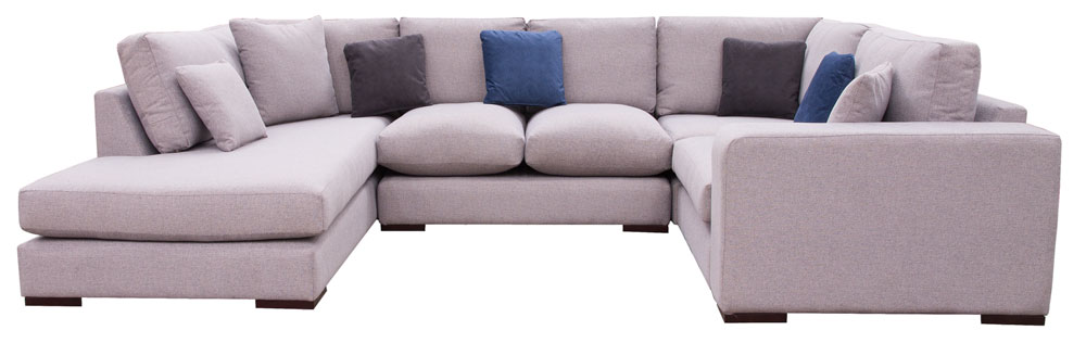 Colorado Corner Chaise Sofa With Fibre Filled Cushions